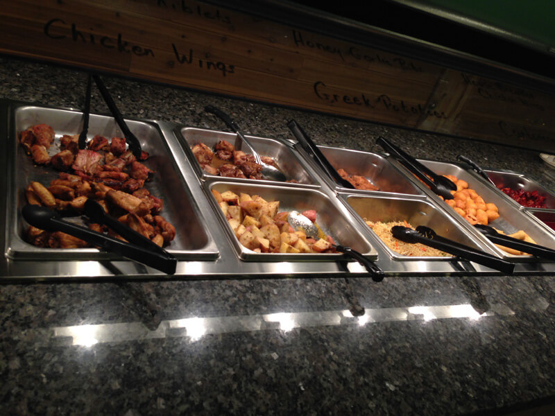 Hot Buffet Trays