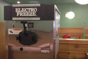 Electro Freeze Ice Cream Machine